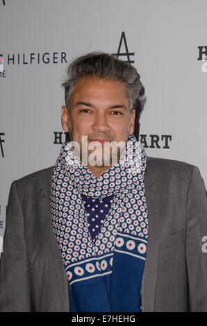 New York, NY, USA. 17th Sep, 2014. Carlos Mota at arrivals for Friends of the High Line 2nd Annual High Line Art - Stock Photo