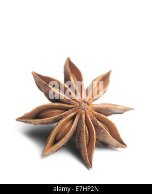 Star anise isolated - Stock Photo