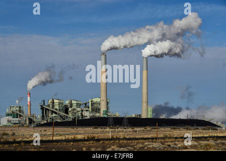 USA, United States, America, Arizona, Scottsdale, Power Plant, energy, pollution, global warming, coal, industry, - Stock Photo