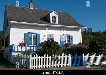 Bic village bas saint laurent quebec province canada stock for Auberge des iles du bic