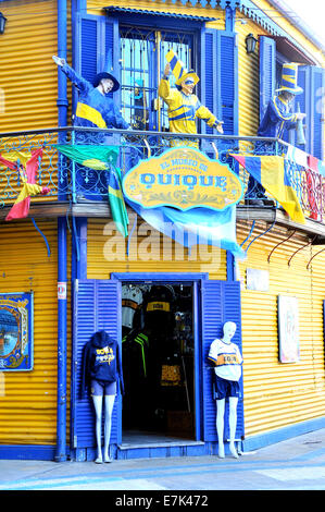 El Museo de Quique La Boca Buenos Aires Argentina - Stock Photo