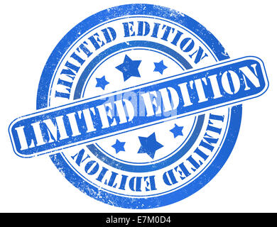 Limited Edition Stamp Stock Vector Art Illustration Vector Image