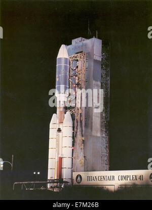 Voyager 2 Launch - Stock Photo