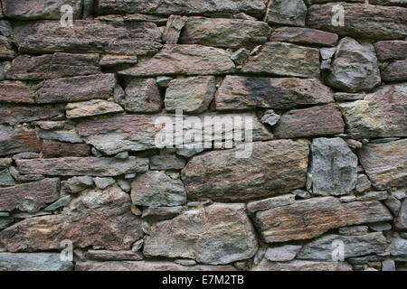 Traditional Stone Home Wall ,Background - Stock Photo