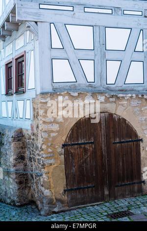Half timbered house - Stock Photo