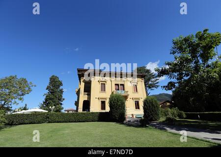 Hotel Villa Moorings, Barga, Tuscany, Italy - Stock Photo