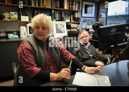 Professor Stephen William Hawking, CH, CBE, FRS, FRSA, - Stock Photo