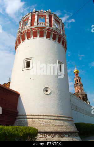 Novodevichy monastery, Moscow, Russia, Europe - Stock Photo