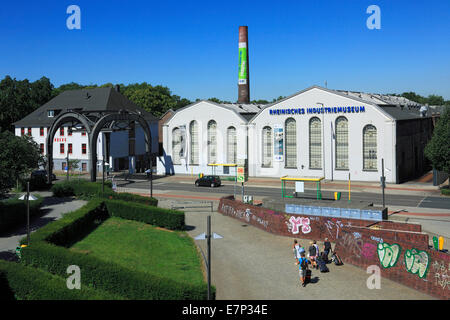 Germany, Europe, Oberhausen, Ruhr area, Lower Rhine, Rhineland, North Rhine-Westphalia, LVR, iron industry, industrial - Stock Photo