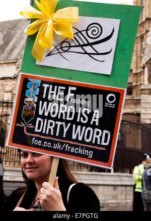 London, UK. 21st Sep, 2014. Climate Protest 2014, London Credit:  Adina Tovy/Alamy Live News - Stock Photo