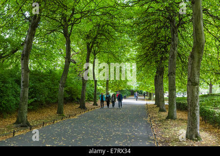 St Stephen's Green public park in the city centre, Dublin City, Republic of Ireland - Stock Photo