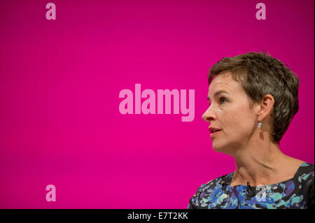 MANCHESTER, UK. 23rd September, 2014. Mary Creagh, Shadow Secretary of State for Transport, at day three of the - Stock Photo