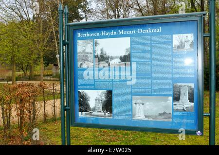 Monument to Haydn, Beethoven and Mozart (Berlin, Germany) - Stock Photo