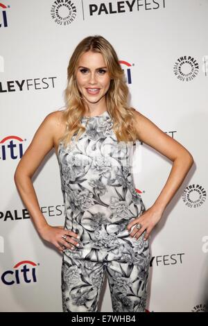PaleyFest 2014 - 'Originals' presentation held at The Dolby Theatre.  Featuring: Claire Holt Where: Los Angeles, - Stock Photo