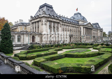 Royal Palace, Brussels, Belgium - Stock Photo