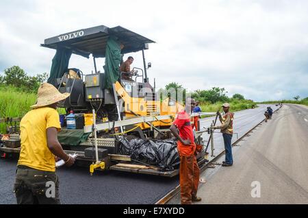 congo roads stock photo, royalty free image: 15042813 alamy