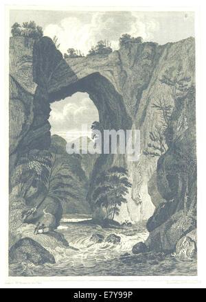 HINTON(1834) 2.507 Natural bridge, Virginia - Stock Photo