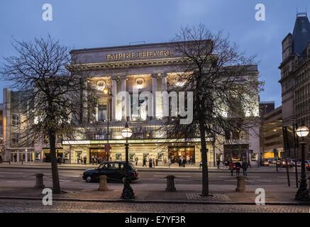 Empire Theatre, Lime Street, Liverpool, England, UK - Stock Photo