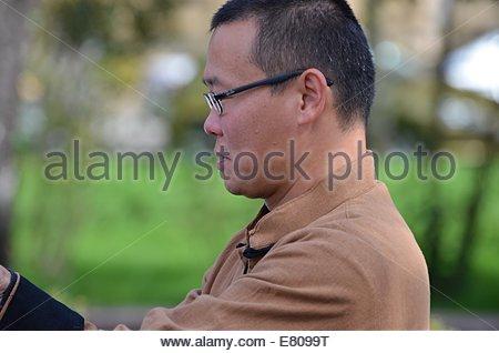Zagreb, Croatia. 27 September 2014. Confucius Institute Day at University of Zagreb in park Josip Juraj Strossmayer - Stock Photo