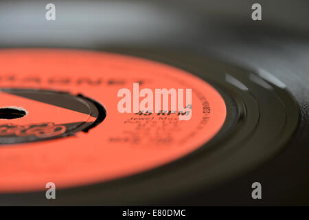 A vinyl record - Stock Photo