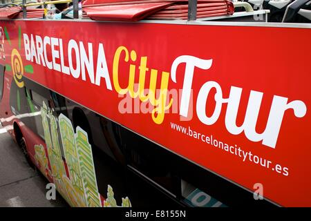 Barcelona City Tours - Stock Photo