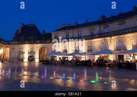 Liberation square, Dijon, Departement Cote-d'Or, Bourgogne, France - Stock Photo
