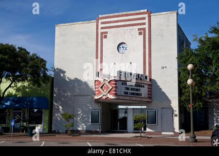 The strand in historic old downtown galveston texas usa for Georgetown movie theater