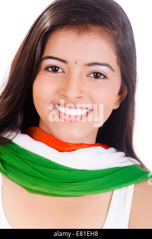 indian Preparation Girl - Stock Photo