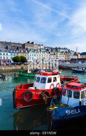 The harbour in Cobh, County Cork, Republic of Ireland - Stock Photo