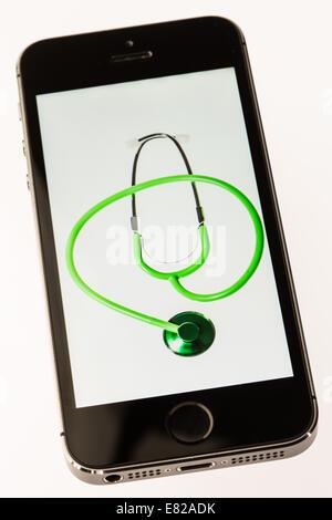 Health app. - Stock Photo
