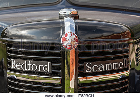 Front of a Bedford Scammell Truck - Stock Photo