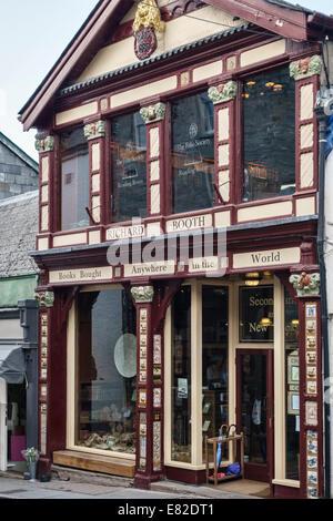 Richard Booth's Bookshop, Hay-on-Wye, Powys, Wales UK (now owned by Elizabeth Haycox) - Stock Photo