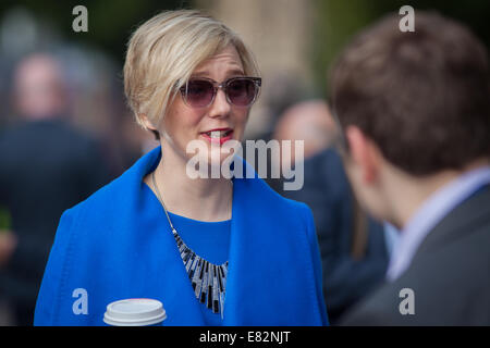 Stella Creasey at the Labour Party conference at Manchester - Stock Photo