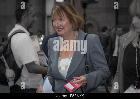 Labour Party conference at Manchester - Stock Photo