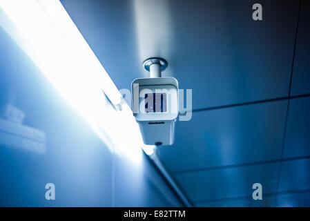 Surveillance camera. - Stock Photo