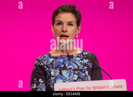 Mary Creagh-Shadow secretary of State for transport-MP for Wakefield - Stock Photo