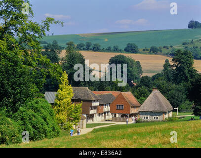 Weald and Downland Living Museum. West Sussex. England. UK - Stock Photo