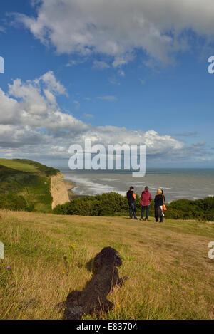 Ecclesbourne Glen Hastings Country Park - Stock Photo