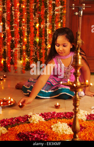 indian diwali Festival - Stock Photo