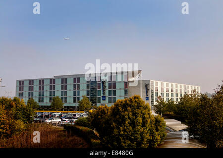 Radisson Blu hotel at Stansted Airport England UK - Stock Photo