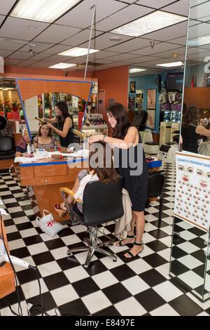 Vietnamese American Women Hairdressers Working Hair Salon Asian Stock Photo Royalty Free