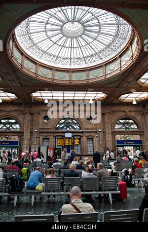 The Booking Hall At Edinburgh Waverley Railway Station