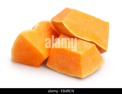 pumpkin isolated - Stock Photo