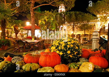 Rust, Germany - September 25, 2014: Halloween and Spook Me Musical at Europapark - Stock Photo
