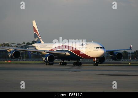 ARIK NIGERIA NIGERIAN AIRLINES AIRBUS A340 - Stock Photo