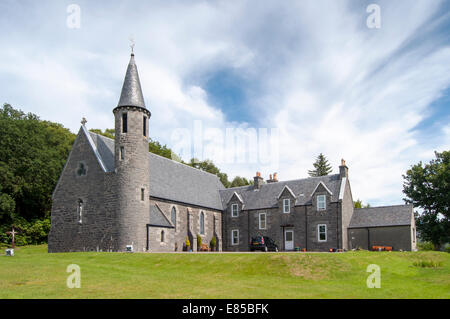 Church of Our Lady of Perpetual Succour and St Cumin at Morar, Scotland, UK - Stock Photo