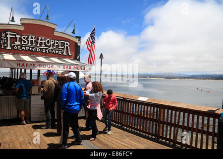 Monterey fish hopper seafood restaurant cannery row for Fish hopper monterey