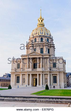 Chapel of Saint Louis des Invalides. Paris, France - Stock Photo