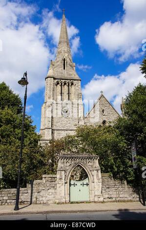 St Mark's Regents Park  Church, London England United Kingdom UK - Stock Photo