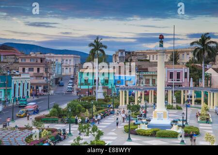 Plaza de Marta, Santiago de Cuba, Santiago de Cuba Province, Cuba, West Indies, Caribbean, Central America - Stock Photo